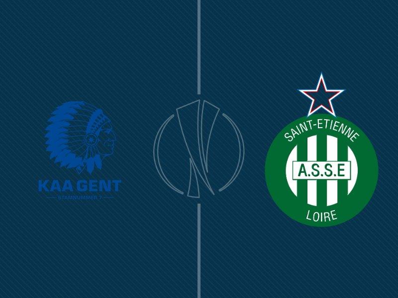 St-Etienne surpris par Gent