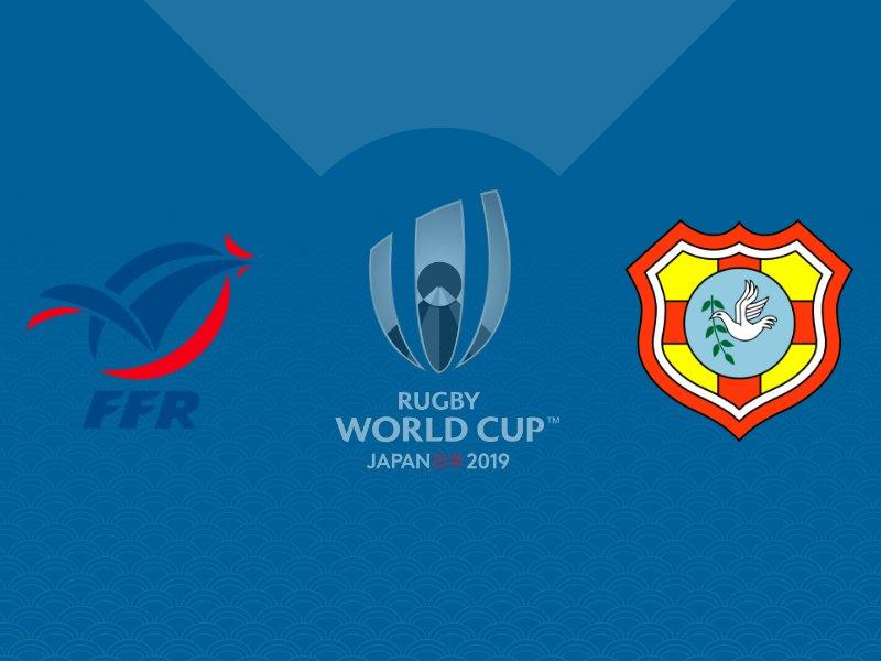 Le XV de France s'impose face aux Tonga