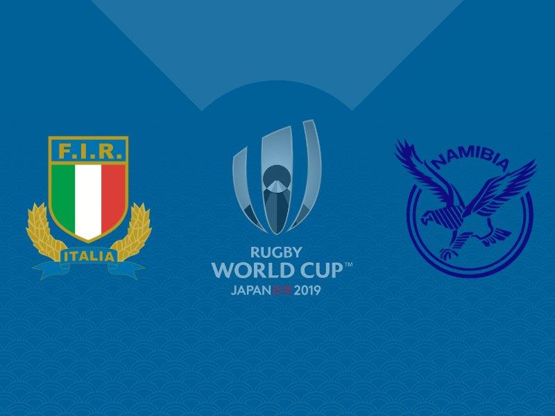 L'Italie fait plier la Namibie avec le bonus offensif