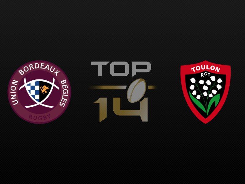 Toulon corrigé par Bordeaux Bègles