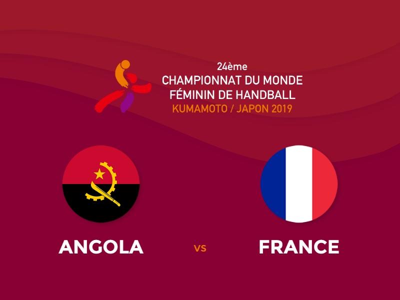 Les Bleues surclassent l'Angola