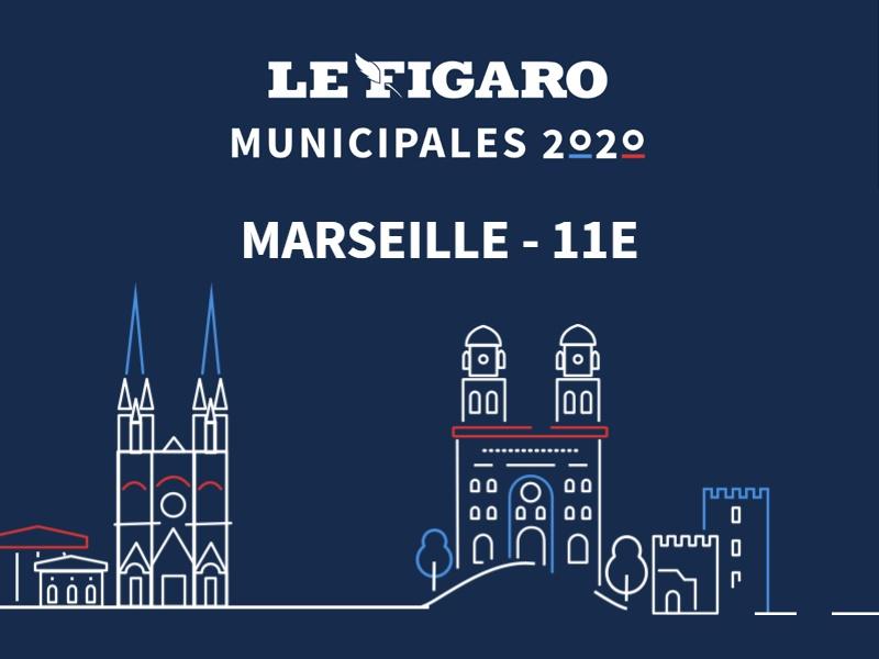 MUNICIPALES à Marseille - 11e: les résultats du 2nd tour sont disponibles. Découvrez-les en story!