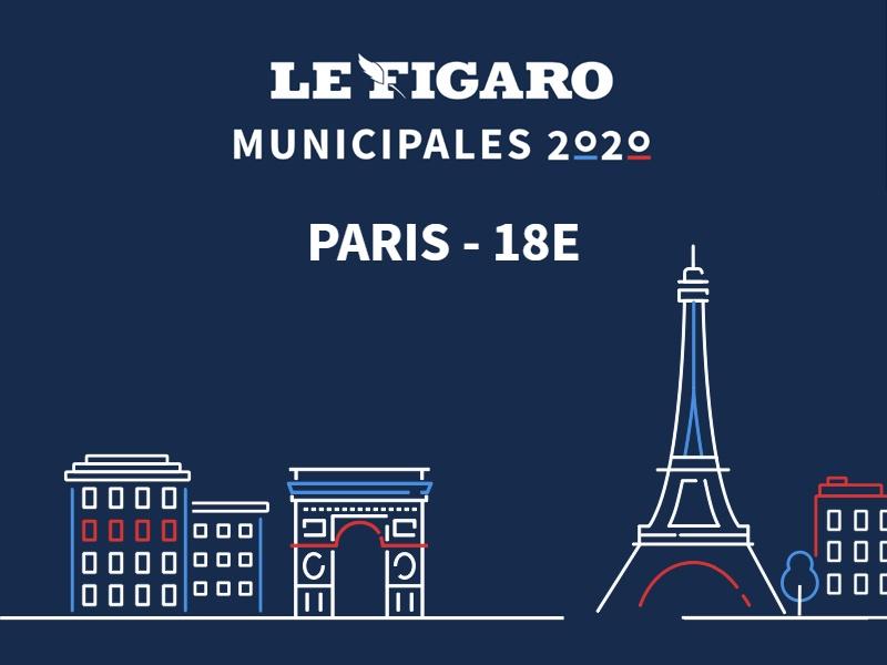 MUNICIPALES à Paris - 18e: les résultats du 2nd tour sont disponibles. Découvrez-les en story!