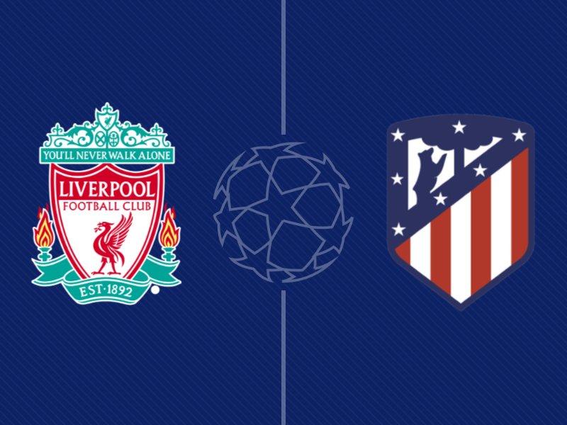 Liverpool - l'Atletico Madrid en chiffres
