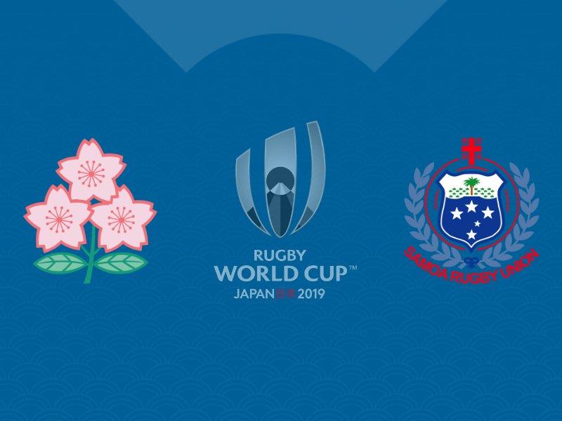 Le Japon fait plier les Samoa avec le bonus offensif