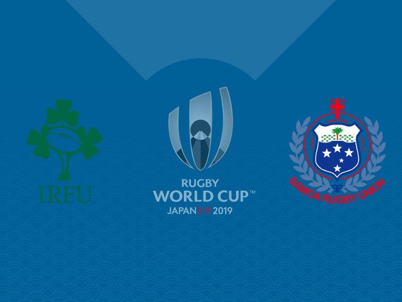 L'Irlande se balade face aux Samoa avec le bonus offensif