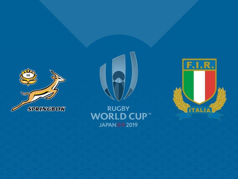 L'Afrique du Sud se balade face à l'Italie avec le bonus offensif