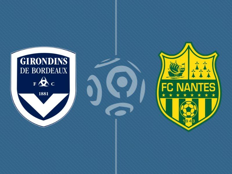 Bordeaux s'offre le derby face à Nantes