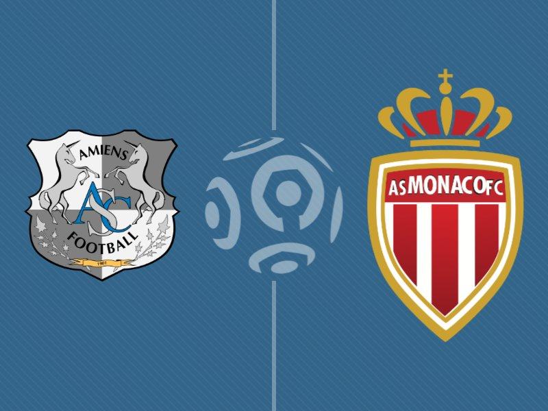 Monaco s'impose sur le fil face à Amiens