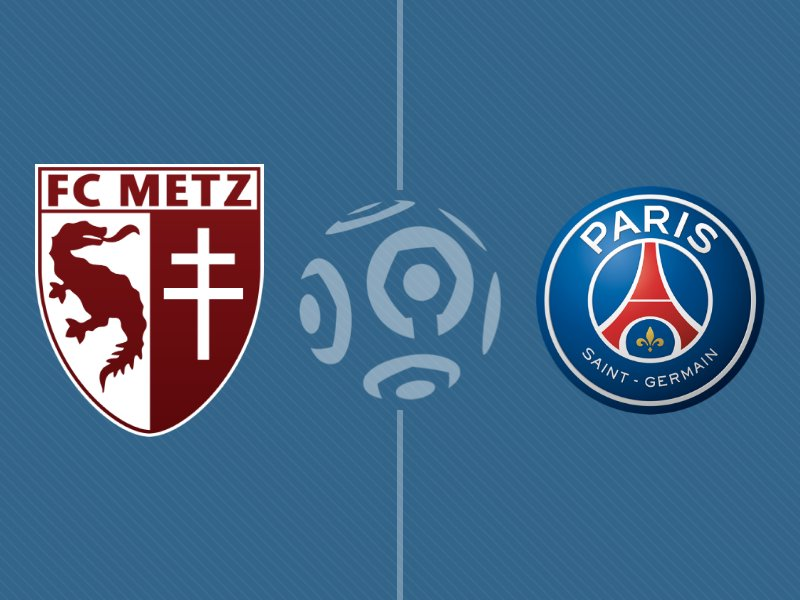 Le Paris SG s'impose face à Metz