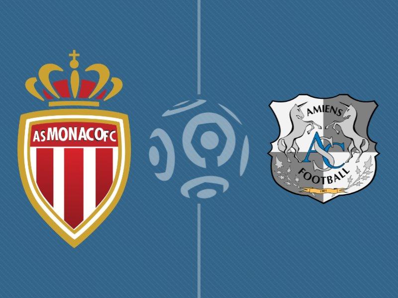 Monaco domine Amiens