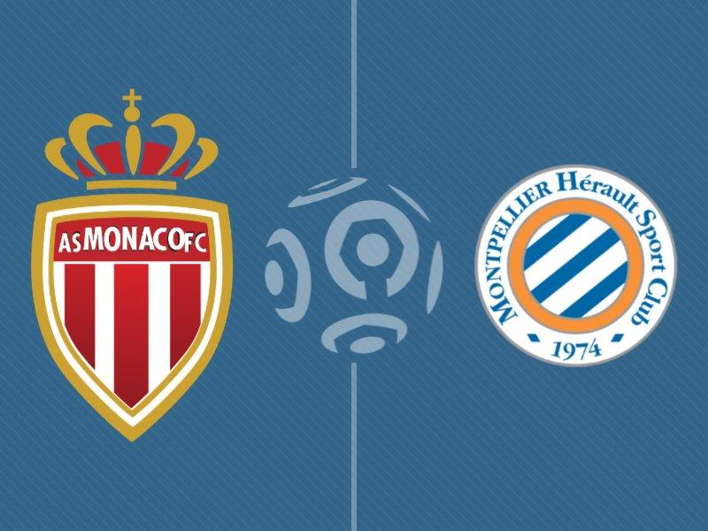 Monaco s'impose face à Montpellier