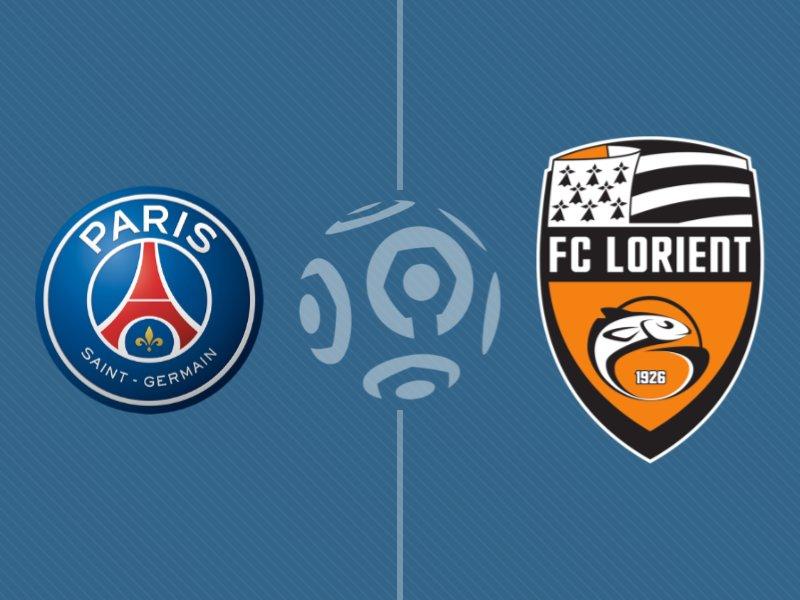 Le Paris SG s'impose face à Lorient