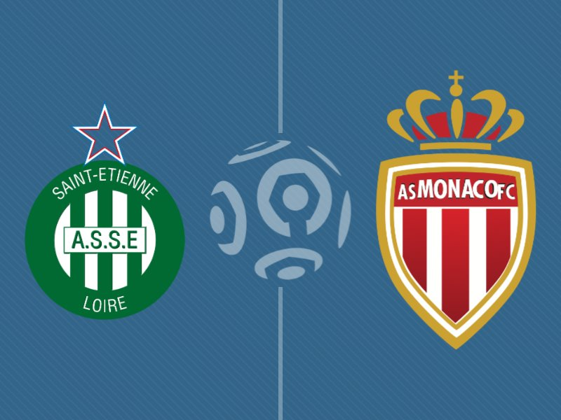St-Etienne domine Monaco