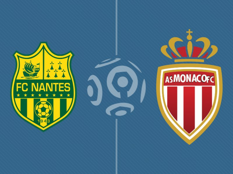 Monaco domine Nantes