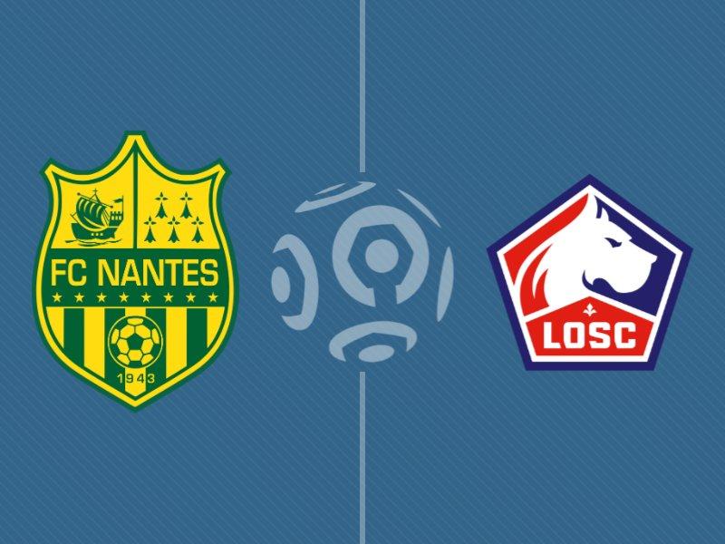 Lille s'impose face à Nantes