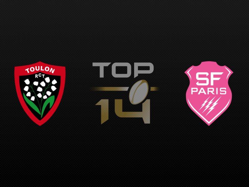 Toulon arrache la victoire in extremis contre le Stade Français