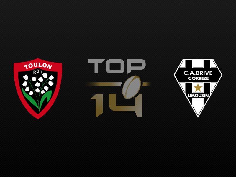 Toulon fait plier Brive