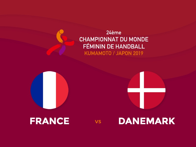 Les Françaises s'inclinent d'un rien face au Danemark